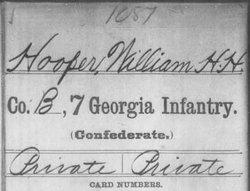 """William Harrison """"Henry"""" Hooper"""