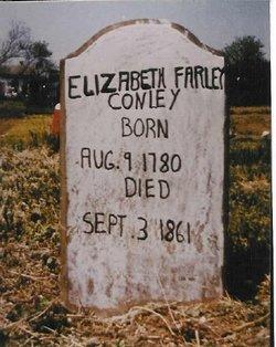 Elizabeth <I>Farley</I> Conley
