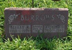 Beulah Mae <I>Miller</I> Burrows