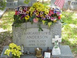 Margaret <I>Lewis</I> Anderson