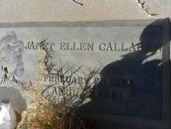 Janet Ellen Callahan