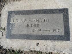 Lolita E. Knight