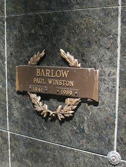 Paul Winston Barlow