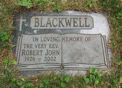 Rev Robert John Blackwell