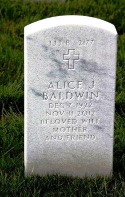 Alice J. Baldwin