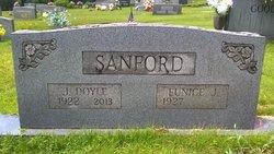 Eunice <I>Jones</I> Sanford