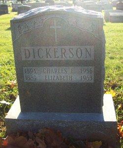 Elizabeth <I>Billington</I> Dickerson