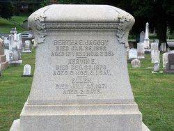 Bertha E Jacoby