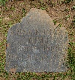 Anna <I>Romano</I> Nimo