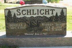 """Warren """"David"""" Schlicht"""