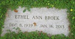Ethel Ann <I>Sauler</I> Broek