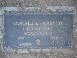 Donald E. Forsyth