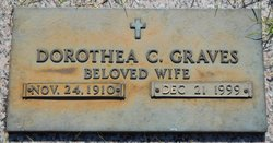Dorothea C Graves
