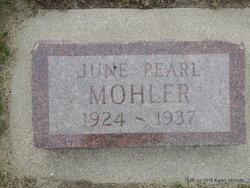 June Pearl Mohler