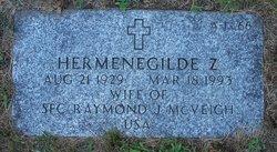 Hermenegilde Z <I>Zeinzinger</I> McVeigh