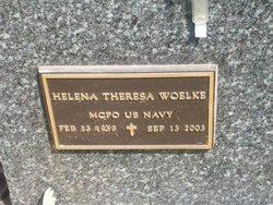 """Helena Theresa """"Tina"""" <I>Elchert</I> Woelke"""