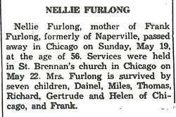 Nellie Mary <I>Callahan</I> Furlong
