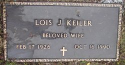 Lois Jean <I>Hoehn</I> Keiler