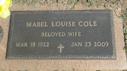 Mabel Louise Cole