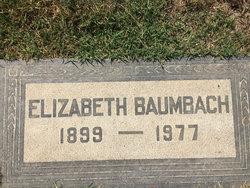 Elizabeth <I>Young</I> Baumbach
