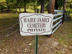 Haire Family Cemetery