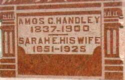 Sarah E <I>Chaney</I> Handley