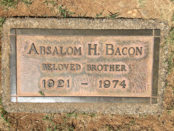 """Absolam H """"Buster"""" Bacon, Jr"""