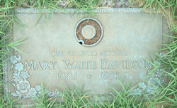 Mary Faith <I>Waite</I> Davidson