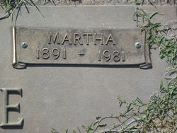 Martha A. <I>May</I> Perske