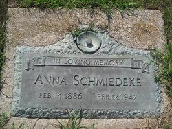 Anna E.  L. <I>Raguse</I> Schmiedeke