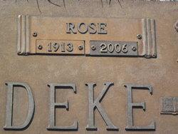 Rose <I>Busch</I> Schmiedeke