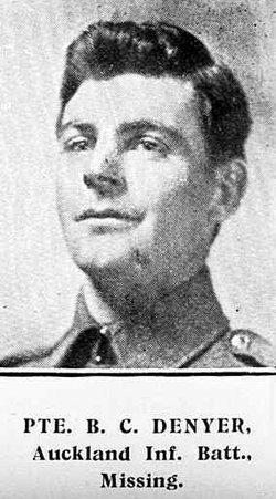 Pvt Bertram Charles Denyer