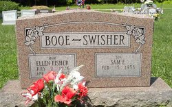 Ellen <I>Fisher</I> Booe