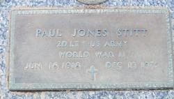 Paul Jones Stitt