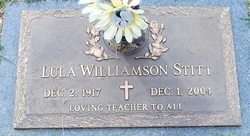 Lula Williamson Stitt