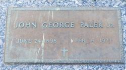 John George Palek, Jr.