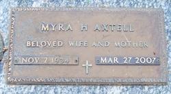 Myra H. Axtell