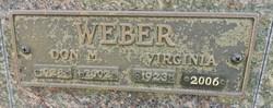 Virginia Ann <I>Duree</I> Weber