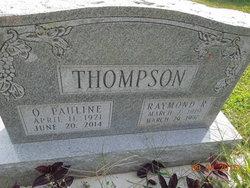 Othel Pauline <I>Reece</I> Thompson