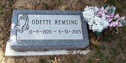 Odette Jeanne Marie <I>Aymes</I> Remsing