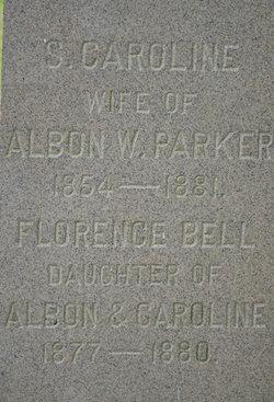 """Serena Caroline """"Carrie"""" <I>Jones</I> Parker"""