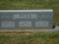 """Olive Gertrude """"Ollie"""" <I>Vest</I> Webb"""