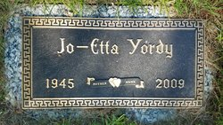 Jo-Etta <I>Jones</I> Yordy