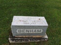 Laura A. <I>Burr</I> Benham