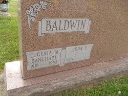 Eugenia M. <I>Banghart</I> Baldwin