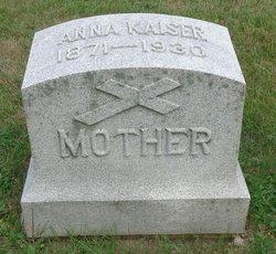 Anna <I>Popp</I> Kaiser