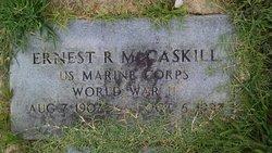 Ernest R McCaskill