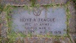 Hoyt R Teague