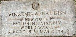 PFC Vincent W Bandish