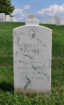 Murray M Sinnett